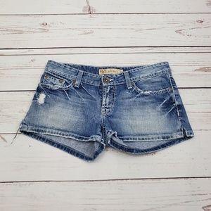 BKE Buckle Distressed Shorts Size 28   Stella
